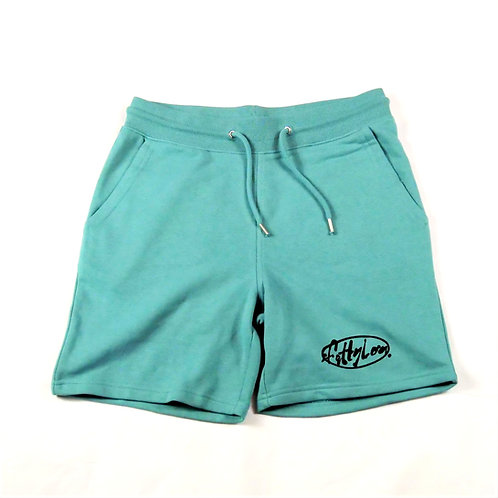 Teal Heavy weight Shorts