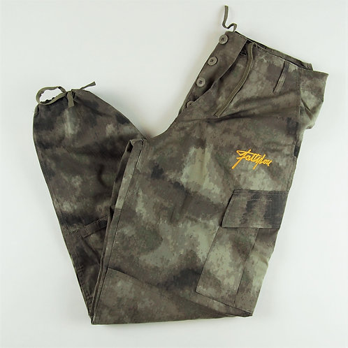 Smudge Camo Cargo Trousers