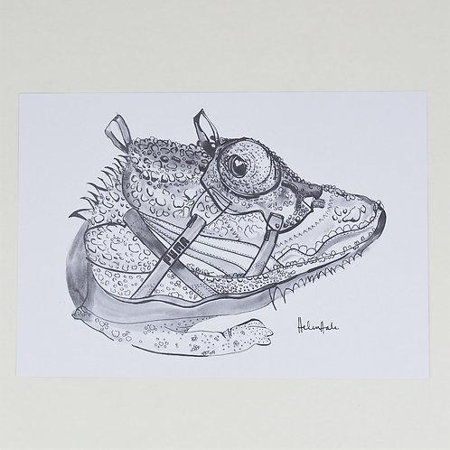 Puma Disc x Chameleon Print