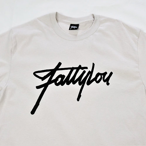 Signature T-shirt Ice Grey