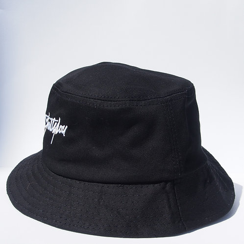 FattyLou Signature Bucket Hat - Black