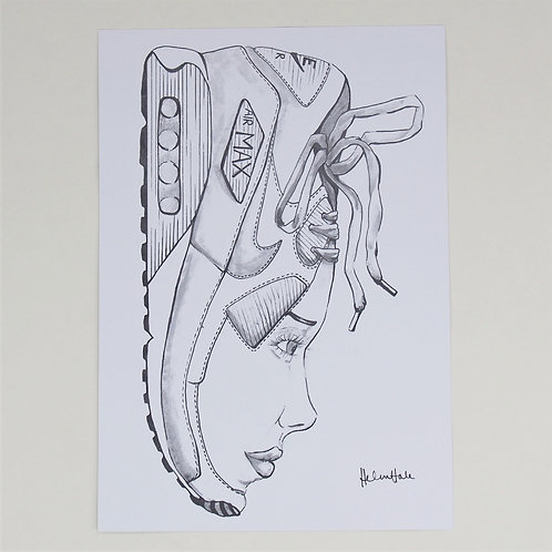 AM90 Sneakerhead Print