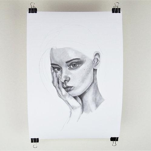 A3 Print - Freckle Portrait 3