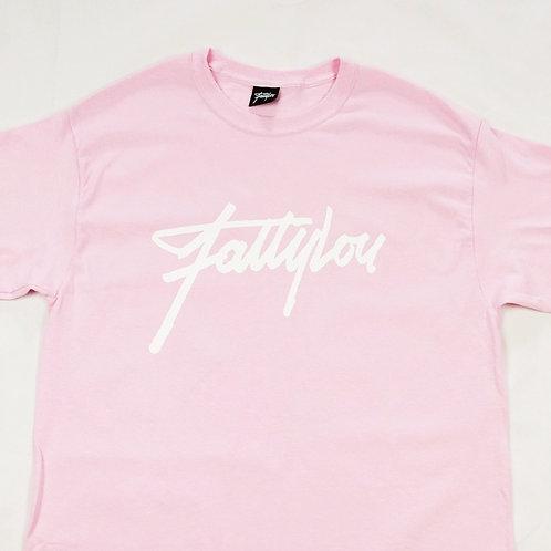 Signature T-shirt Pink