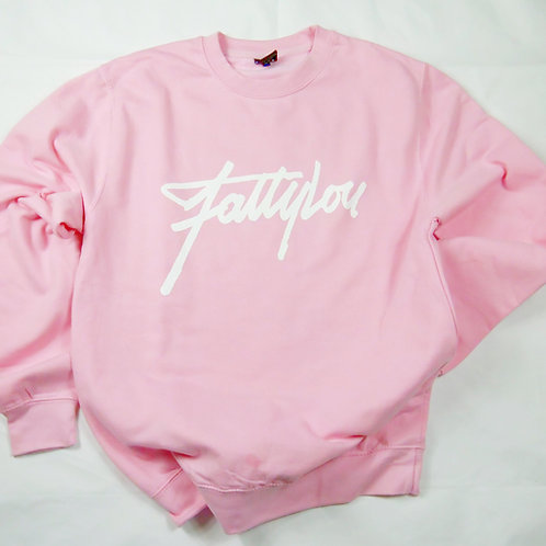 Pink Signature Pull Over