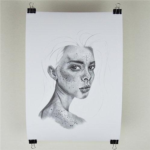 A3 Print - Freckle Portrait 2