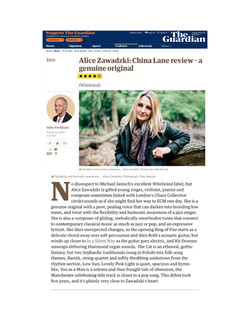 The Guardian, John Fordham Review