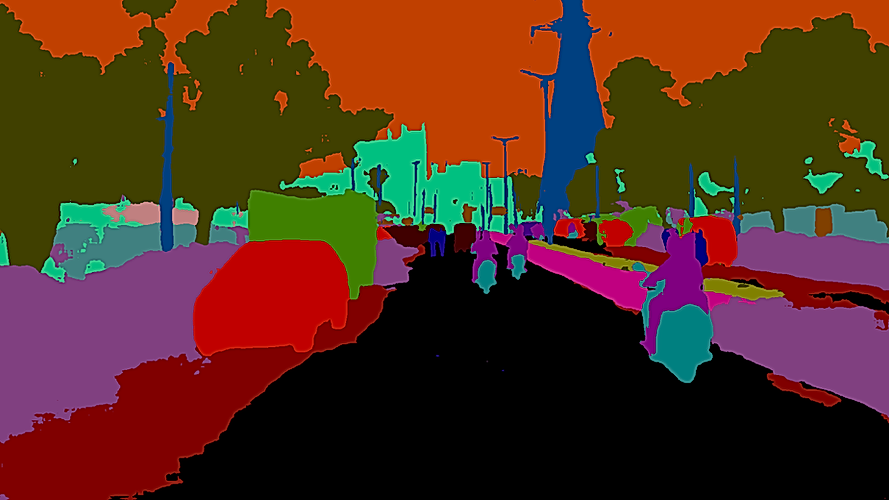 Semantic Segmentation on Road