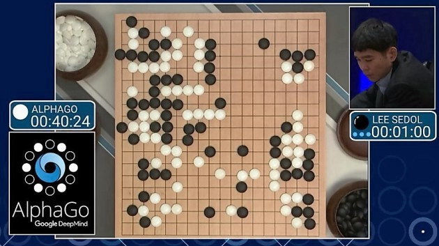 Lee Sedol vs AlphaGo ( 2nd match in Seoul )