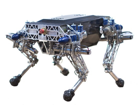 StarlETH- Dynamic Quadruped Locomotion (Developed at ETH Zurich)