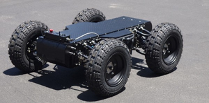 A typical Wheeled Robot