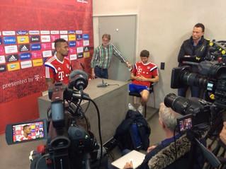 Spielergespräch beim FC Bayern mit Boateng und Müller