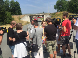 F16 Absturz in Oberfranken