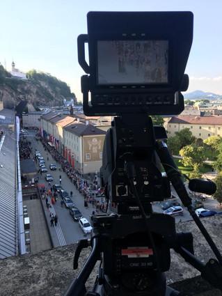 LiveKamera für ORF Salzburg