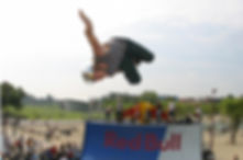 Half pipe XL, Red Bull Can You Take The Heat event