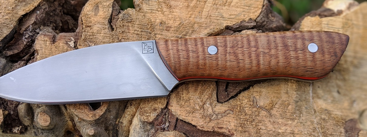 Koa Drop Point Hunter