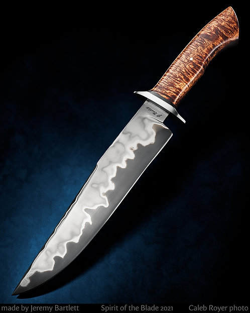 Stainless san mai bowie