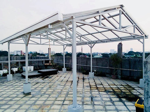 Steel Canopy Fabrication