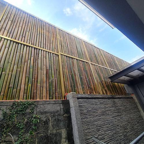 Modular Bamboo Fence Panel