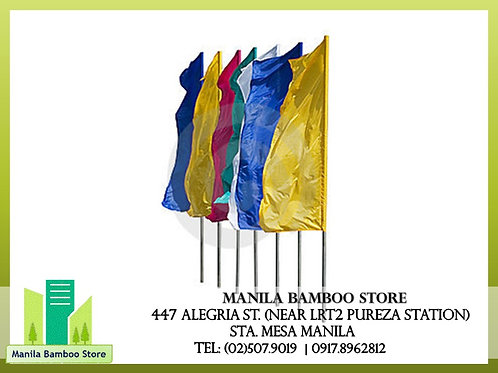 Bamboo Beach Banner Flag