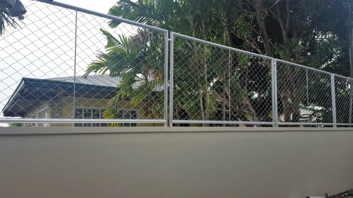 Steel Matting Fence Modern Fence Bamboo Fence Steel
