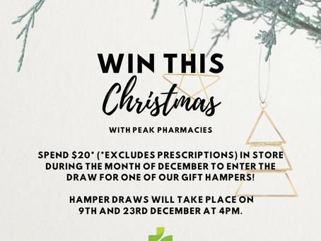 Win a Christmas Hamper with Peak Pharmacies!