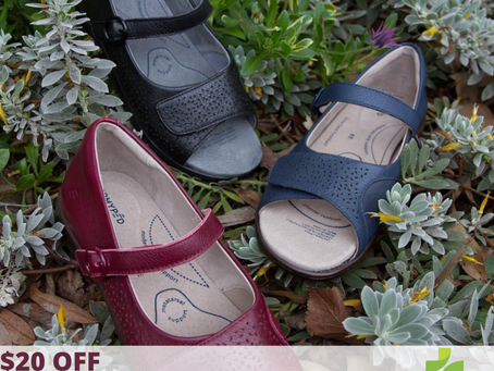 $20 off Dimity Sandals by Homyped!