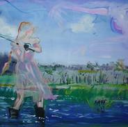 Flyfishing 16 x 20