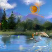 Earth Singing Dream 36 x 24