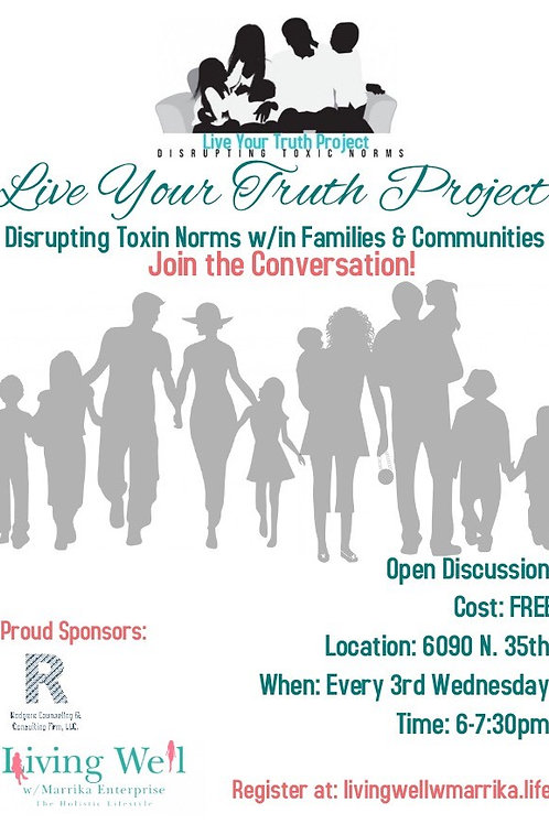 Disrupting Toxic Norms w/in Famiies & Communities