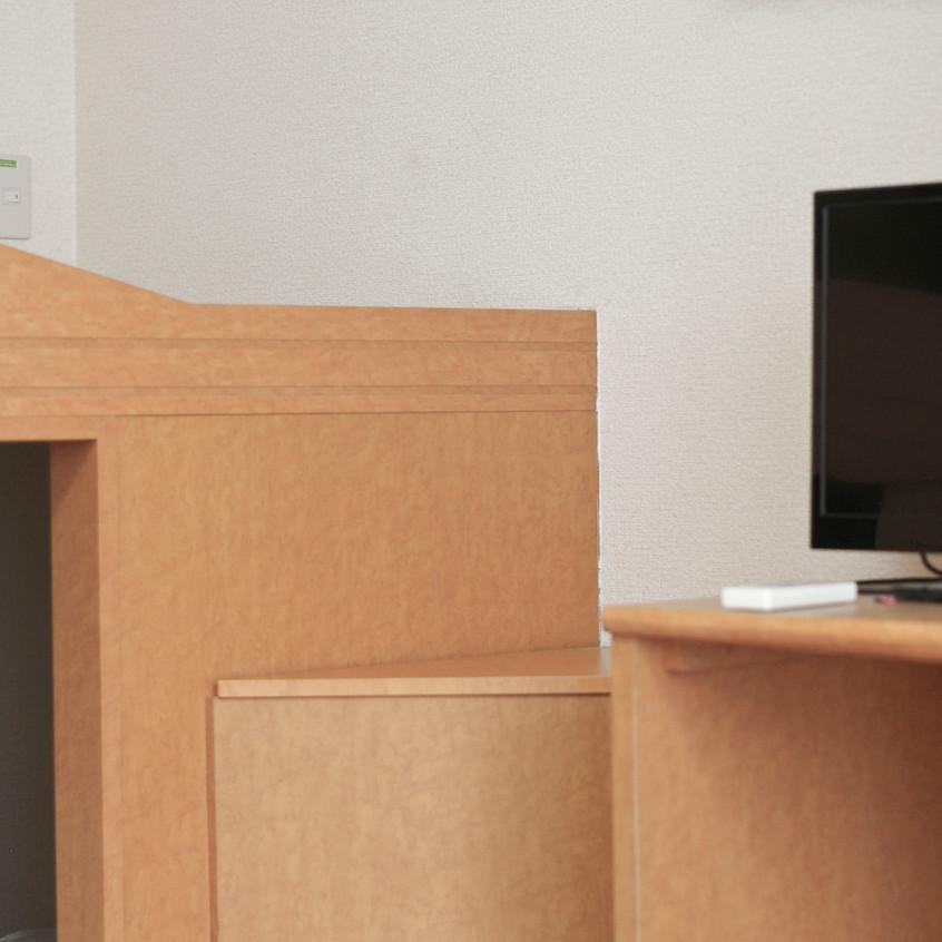 羽鳥の森社寮です。 2人まで居住可。 家具家電付き。 即入居可。 平成31年5月までの入職で家賃半年無料!