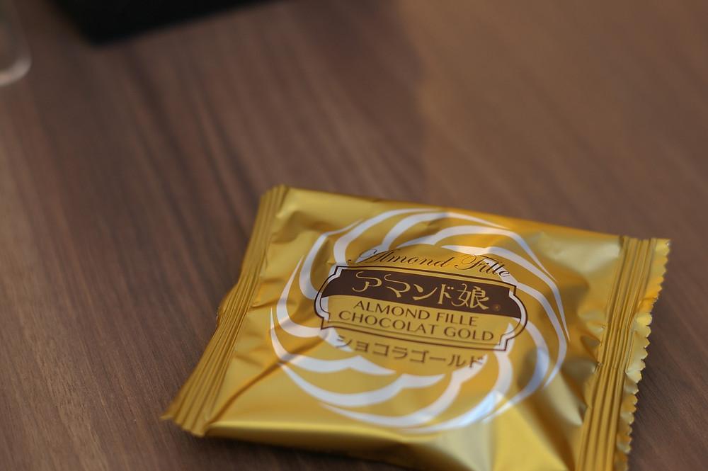 アマンド娘ショコラゴールドを実食します。