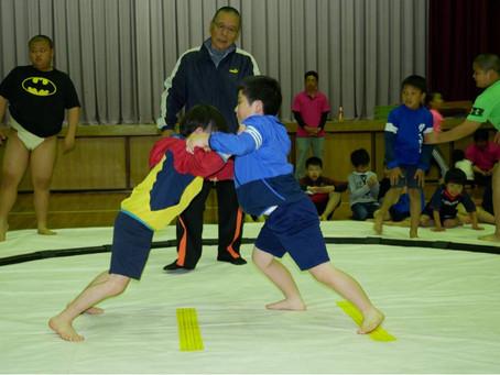 〜わんぱく相撲 体験会を開催しました〜