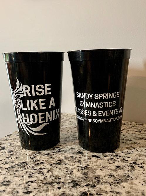 'Rise Like A Phoenix' stadium cup