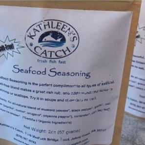 Kathleen's Catch Special Seasonings