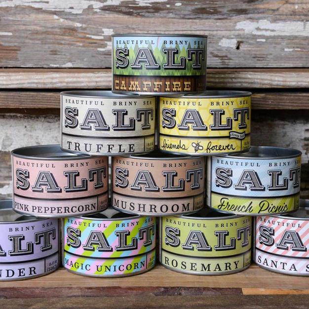 Beautiful Briny Sea Salts & Sugars