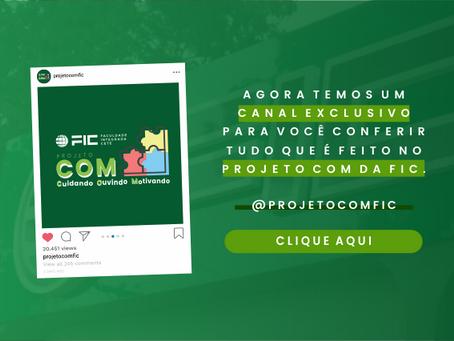 Projeto COM da FIC engajado no Setembro Amarelo