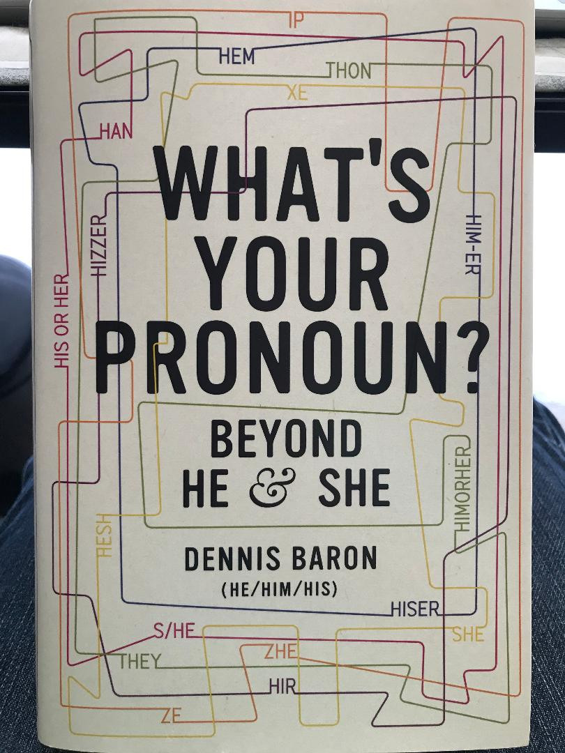 What's Your Pronoun book cover