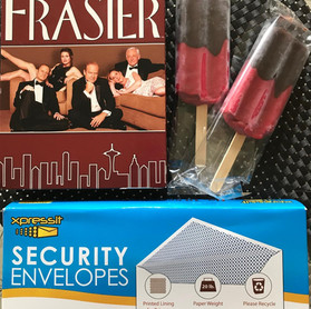 2 Popsicles, Frasier, and Envelopes