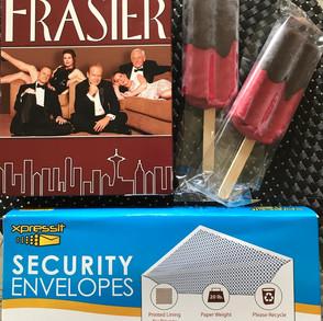 2 Popsicles, Frasier, and Envelopes