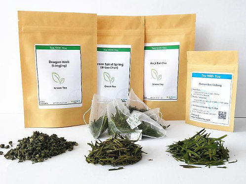 Premium Green Tea Sampler