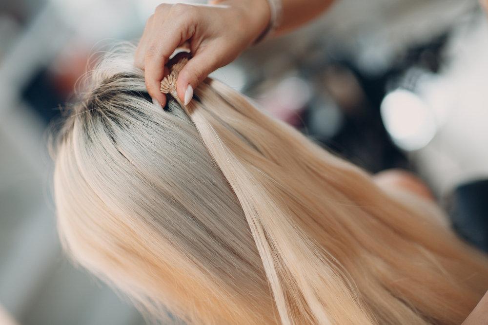 "U-Tip Keratin Bonded Hair Extension-24"""