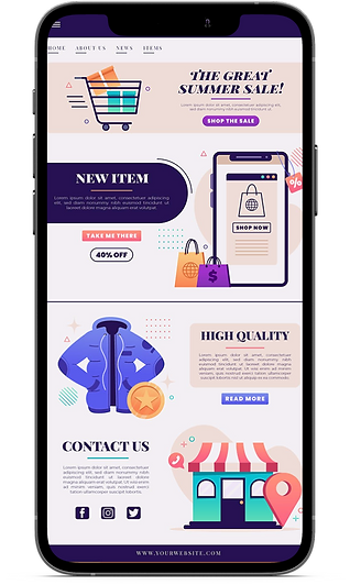shopify store mockup with iphone cloud shipping.png