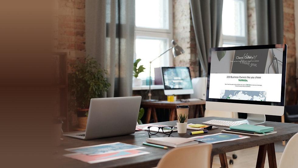 yewebs about us design portfolio & achie
