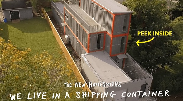 Apartment Therapy + The New Homesmiths | We Live in a Shipping Container