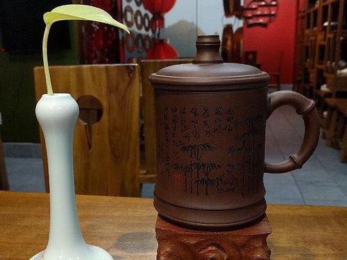 Purple Clay Tea Mug