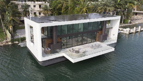 Architectural Digest   Inside a $5.5M Floating Mansion in Miami