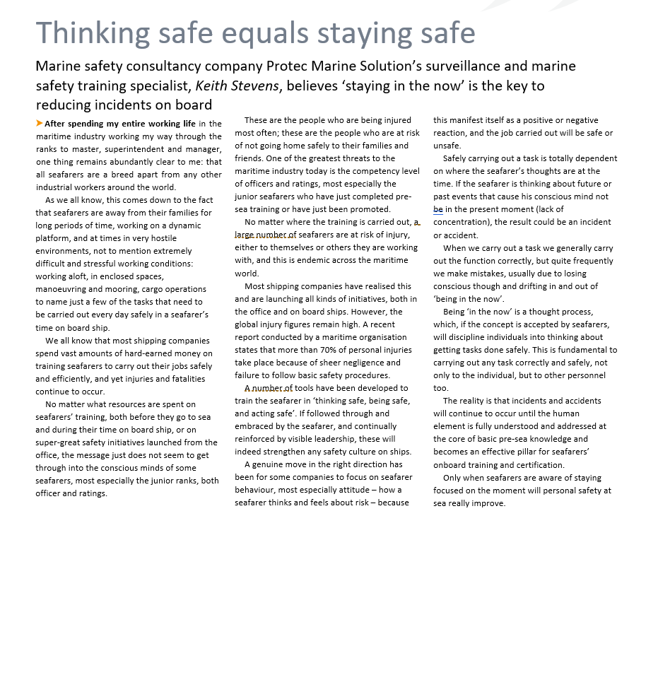 thinking safe equals staying safe-keith-stevens-IHS-Markit-publication-protec-marine-solutions.jpg
