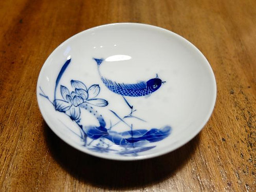 Swimming Koi Shallow Tea Cup 1