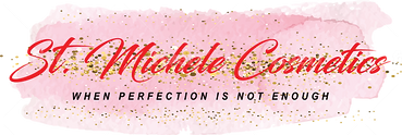St. Michele Cosmetics Logo - RED GOLD .p